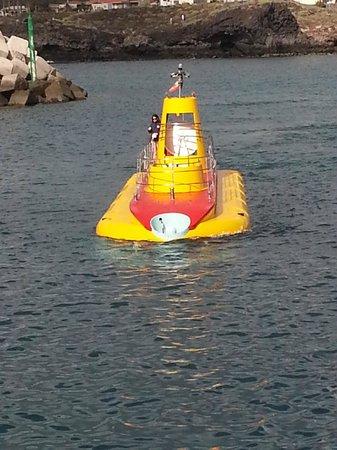 Submarine Safaris : Le sous-marin (on dirait un jouet)