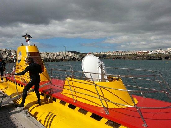 Submarine Safaris : Le sous-marin