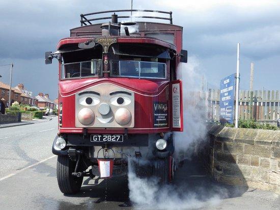 Whitby Steam Bus: Elizabeth the steam bus