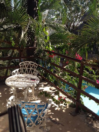 Maya del Carmen: From our balcony!