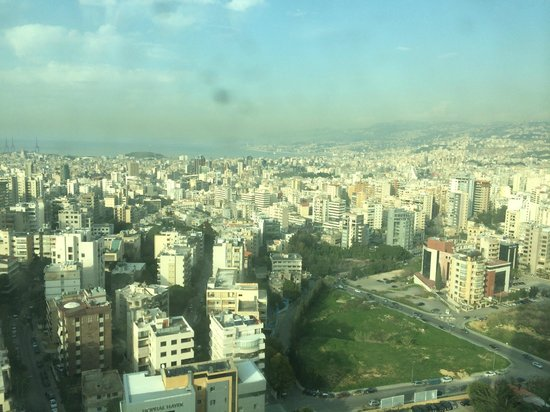 Hilton Beirut Habtoor Grand: view from the room