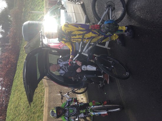 Rostrevor Mountain Bike Trails: Heading out