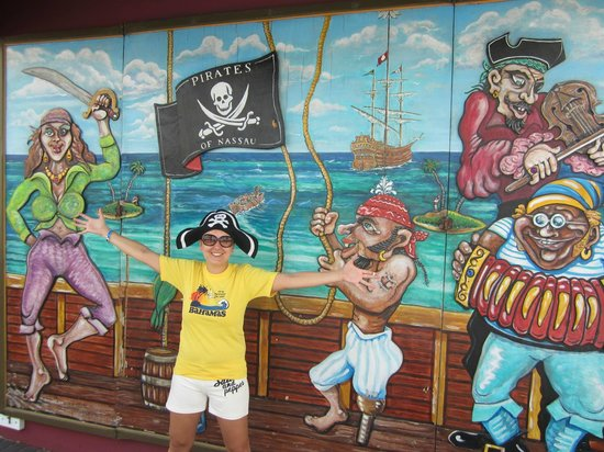 Pirates of Nassau Museum: YARRR!