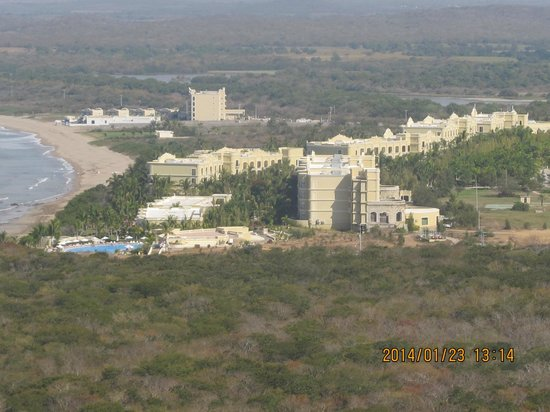 Hotel Riu Emerald Bay : view from the 22nd floor!!!!