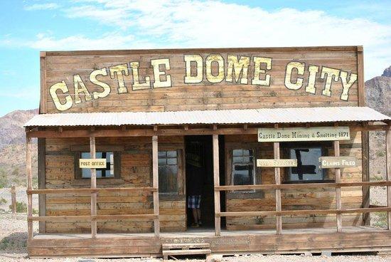 Castle Dome Mines Museum & Ghost Town : Castle Dome city