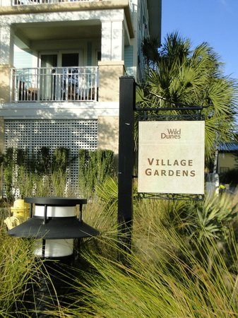 Wild Dunes Resort: Village Gardens units - very nice !