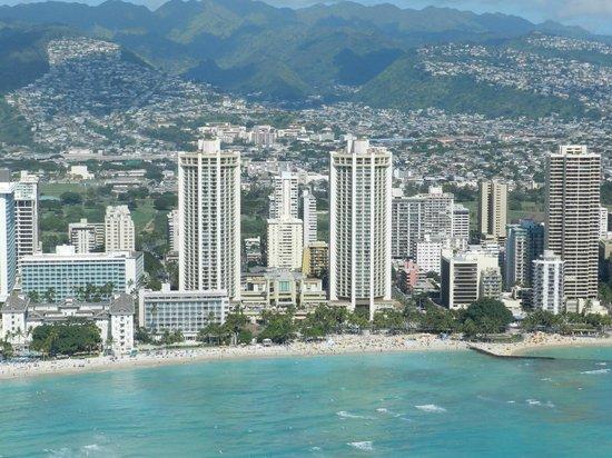 Genesis Helicopters: Waikiki beach