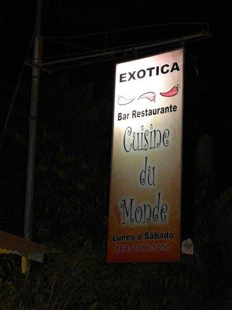 Exotica Entrance