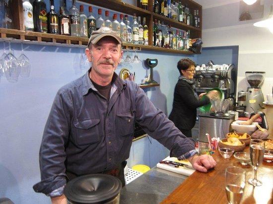 Bar O'Netto: Your host and bar man, Mario
