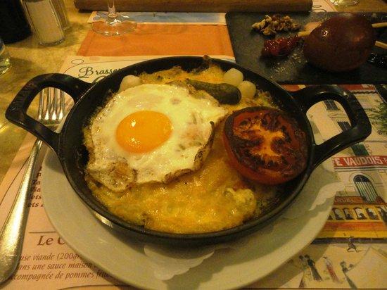 Brasserie Restaurant Le Vaudois: rösti