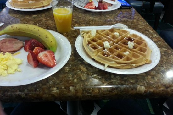 SpringHill Suites Boston Peabody: Just a sample of breakfast