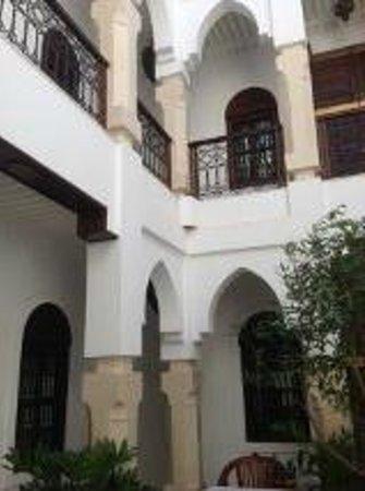 Riad Dar Sohane : The middle of the Riad