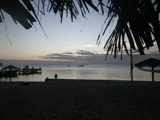 Tita's Pink Seahorse Bar: Sunset