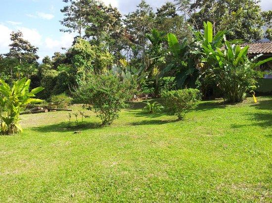 Hotel Mountain Paradise: giardino del resort