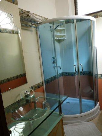 Raj Niwas Hotel: salle d'eau
