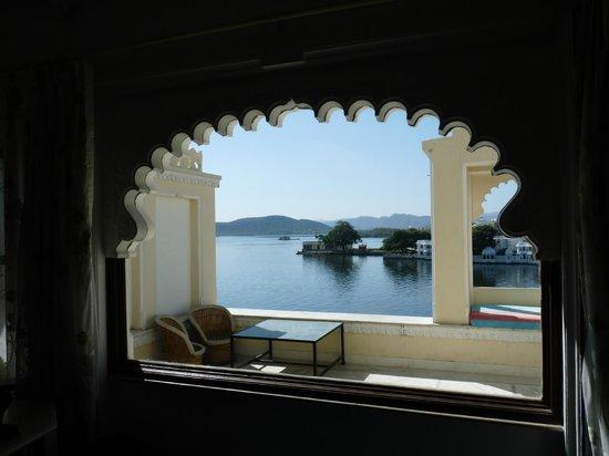 Raj Niwas Hotel : vue de la terrasse