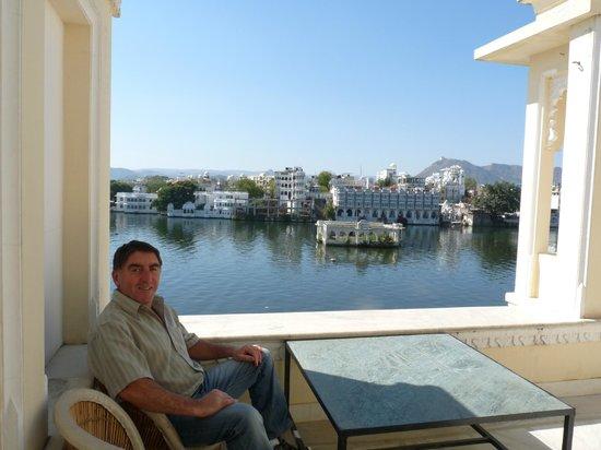 Raj Niwas Hotel : terrasse