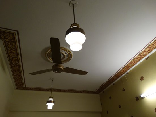 Hotel Pearl Palace : Soft light ceiling