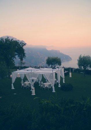 Villa Cimbrone Hotel : rinfresco