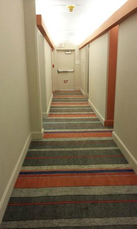 Bahia Mar Fort Lauderdale Beach - a Doubletree by Hilton Hotel: Hallway. The 80's called, they want their rug back.
