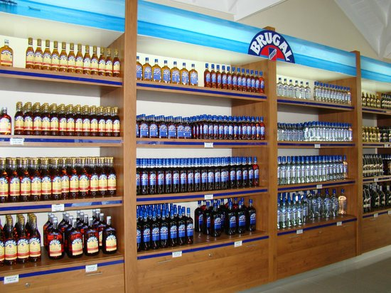 Brugal Rum Center : Attractive selection of rum