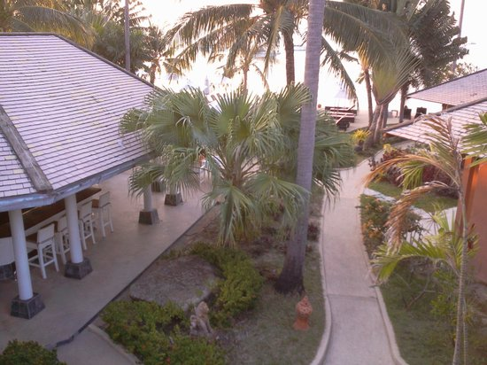 Saboey Resort and Villas: View from Deluxe Suite balcony