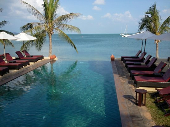Saboey Resort and Villas : Infinity pool