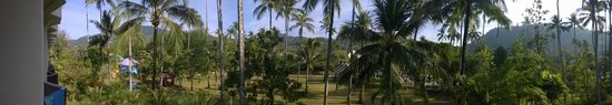 Duangjitt Resort & Spa: A view from our balcony