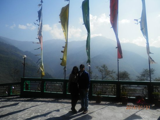Club Mahindra Gangtok, Royal Demazong: Hotel Lobby entance..