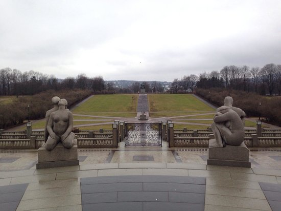 Museo de Vigeland: Another winter photo