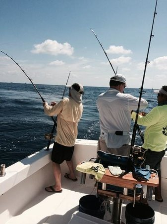 Mad Marlin Sportfishing: getting ready for a double header