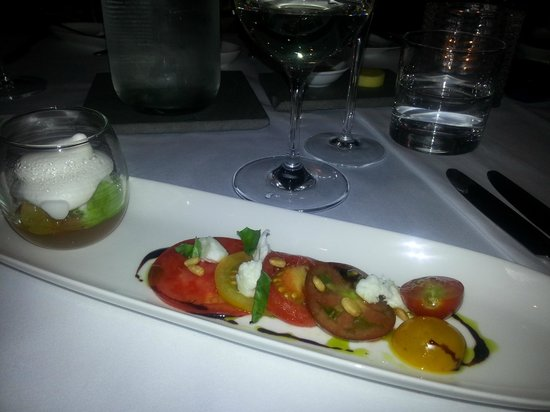 True South Dining Room : Tomato celebration