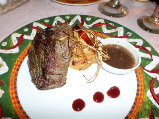 Excellence Riviera Cancun : Steak at the Agave