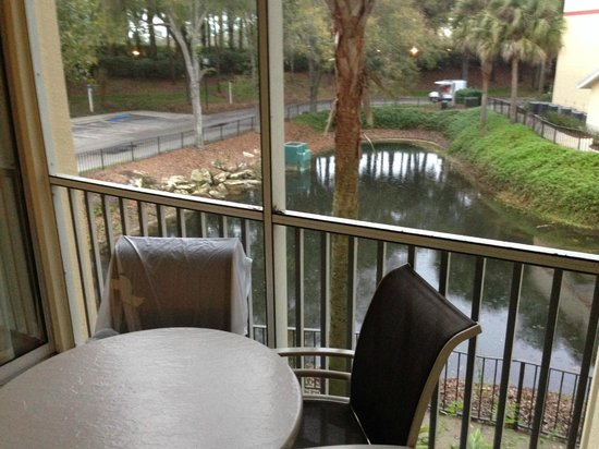Sheraton Vistana Resort Villas- Lake Buena Vista : deck