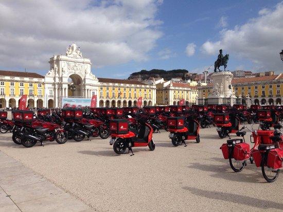 Vincci Baixa : Place du commerce A proximité de l'hôtel