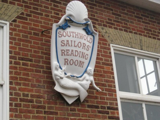 Southwold Sailors' Reading Room: Outside plaque