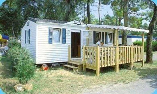 Camping Le Zagarella : mobil home