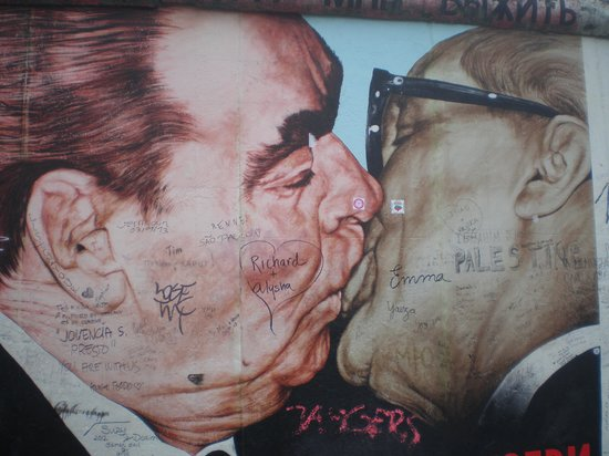 East Side Gallery: Storico murales