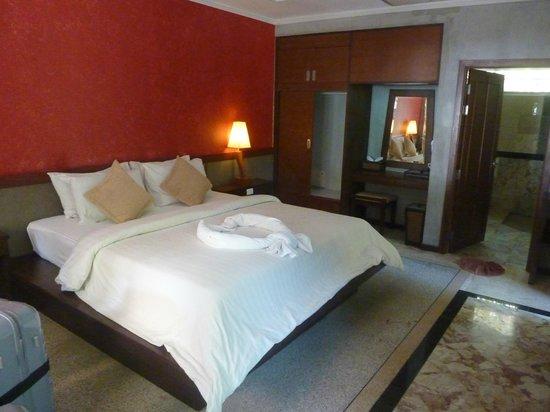 Lanta Sand Resort and Spa: Vue de la chambre