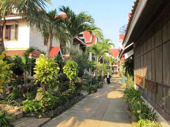 Villa Muong Khong Hotel: Hotel grounds