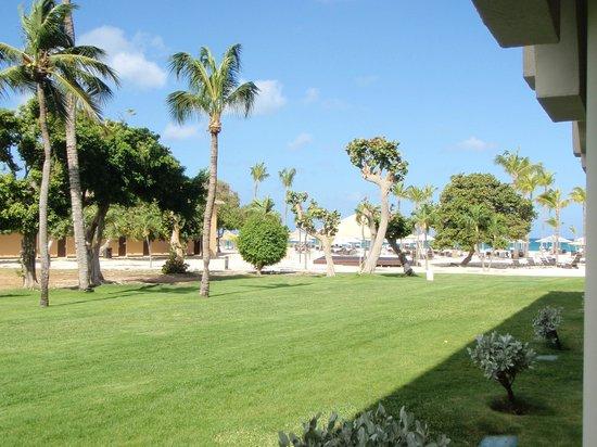 Bucuti & Tara Beach Resort Aruba: Uitzicht vanaf terras