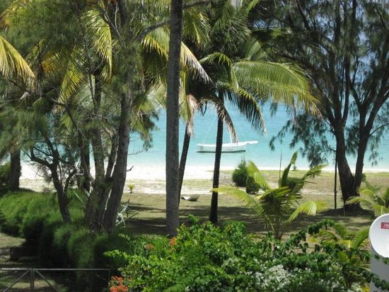 Noix de Coco: vue du balcon