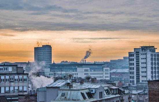 Kopernikus Hotel Prag: Η θέα, νωρίς το πρωί της αναχώρησης