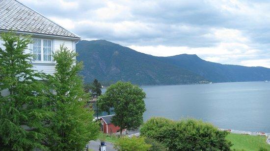 Balestrand Hotel: View from balcony