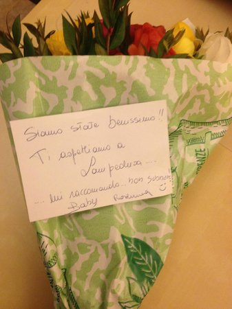 Da Vinti: L'omaggio delle nostre ospiti di Lampedusa