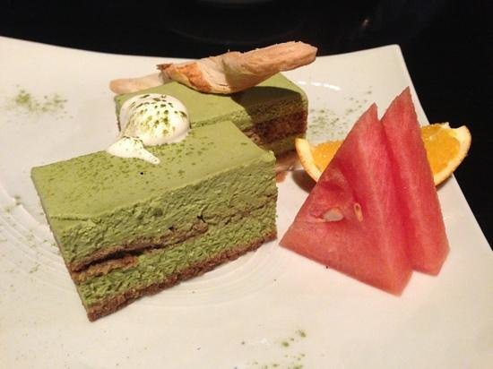 Shintori : green tea tiramisu