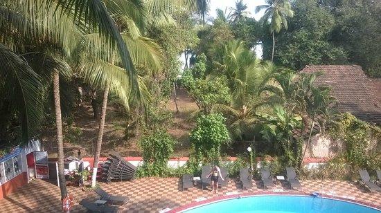 Hotel Dona Terezinha: Вид из номера с третьего этажа