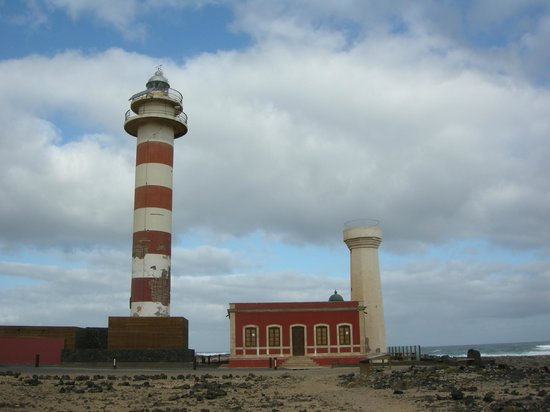 Hotel Cotillo Beach : Lighthouse and museum