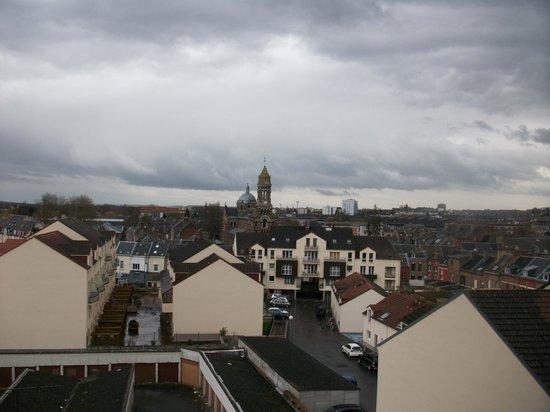 Appart'City Amiens Gare: Vue de la chambre