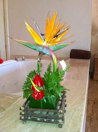 Excellence Punta Cana : beautiful arrangement in our room